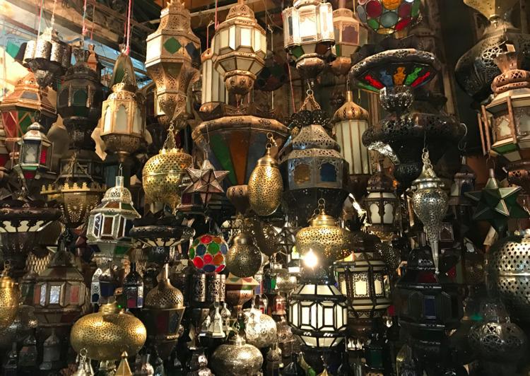 Handmade lamps Souks Marrakech - hermanotten   ello