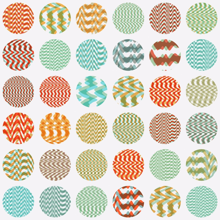 Random wavy patterns. FilterFor - yuyatakeda | ello