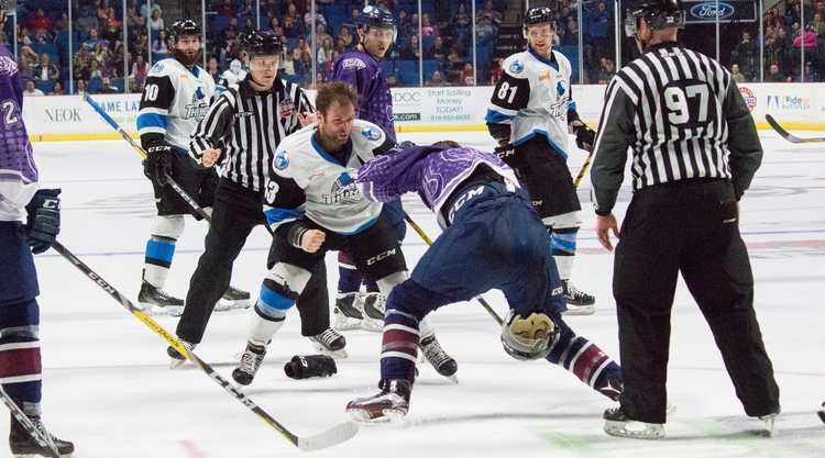 Wichita Thunder Tulsa Oilers - rivalry - puckchk | ello