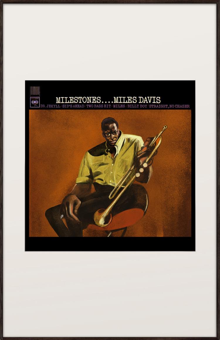 MILESTONES - Miles Davis 30x42c - lesepierre | ello