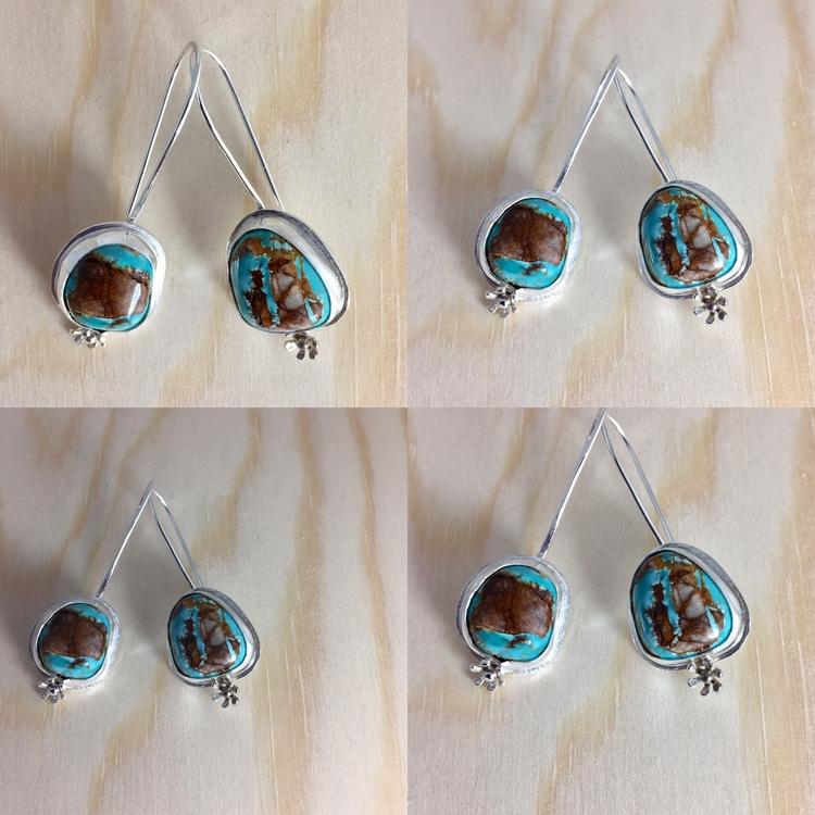 Royston Turquoise sterling silv - carollbrightjewelry | ello