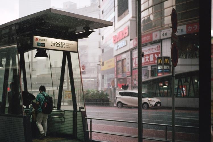 downpour, tokyo - kappuru | ello