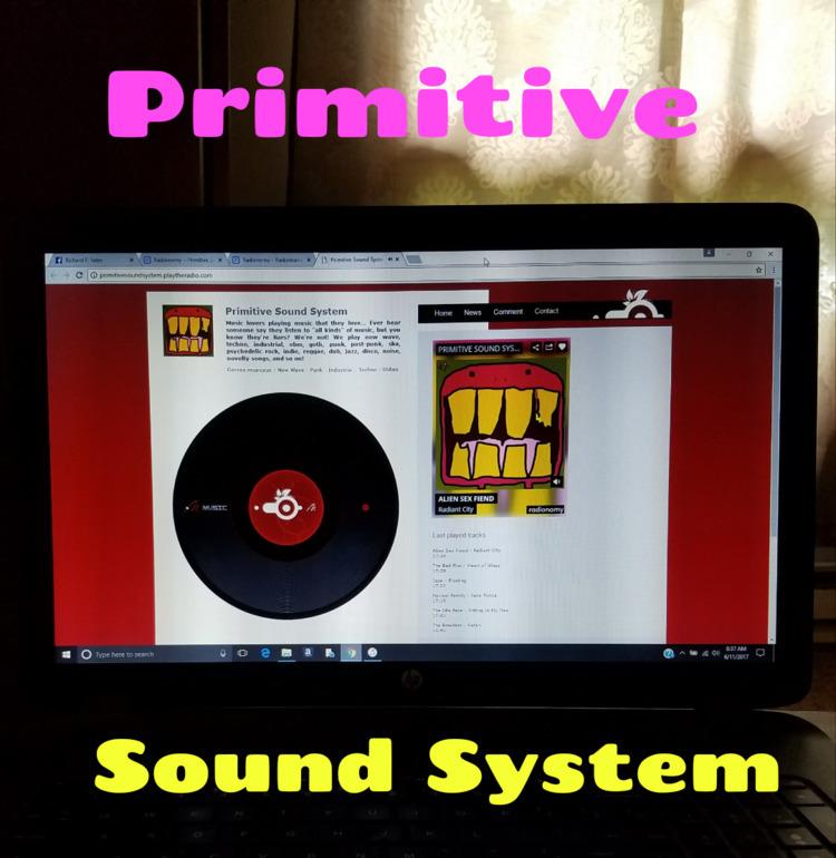 """RADIO: Primitive Sound System - richardfyates | ello"