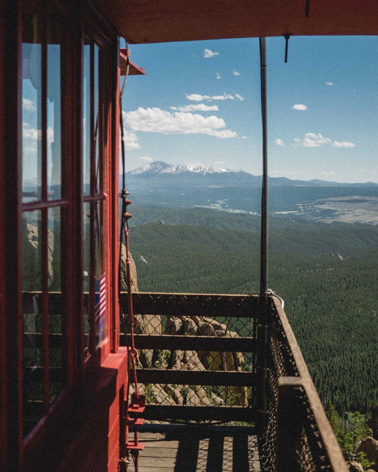 Pikes Peak Lookout - firelookout - andrewwee | ello