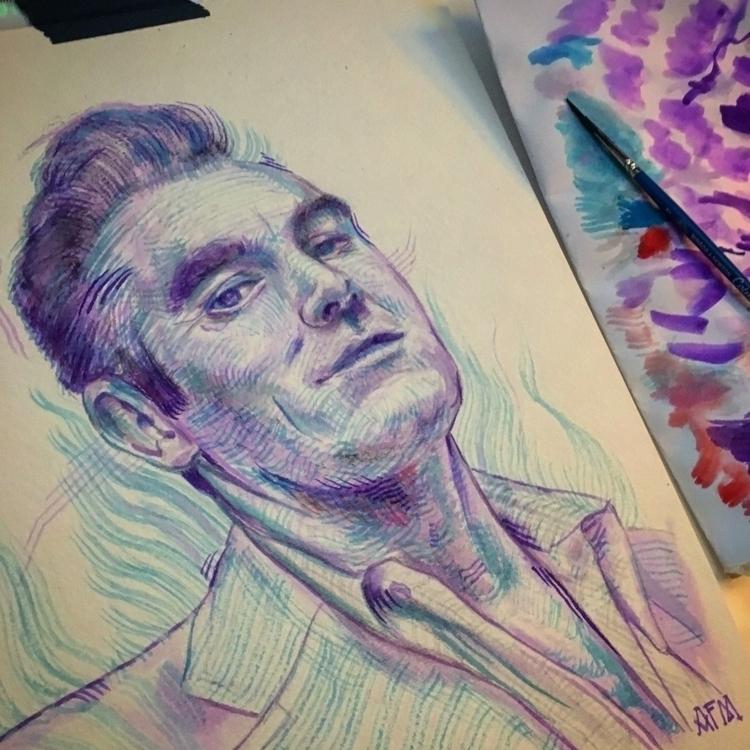 today - watercolor, illustration - albertmontoya | ello