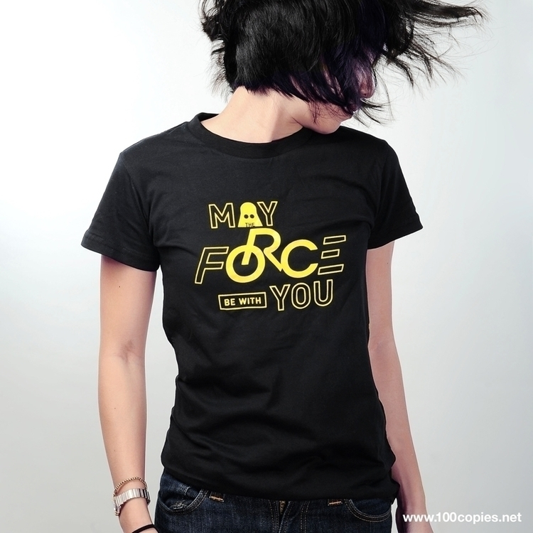 Design 20 - Force (Ladies) Prin - 100copies_bicycle_art | ello