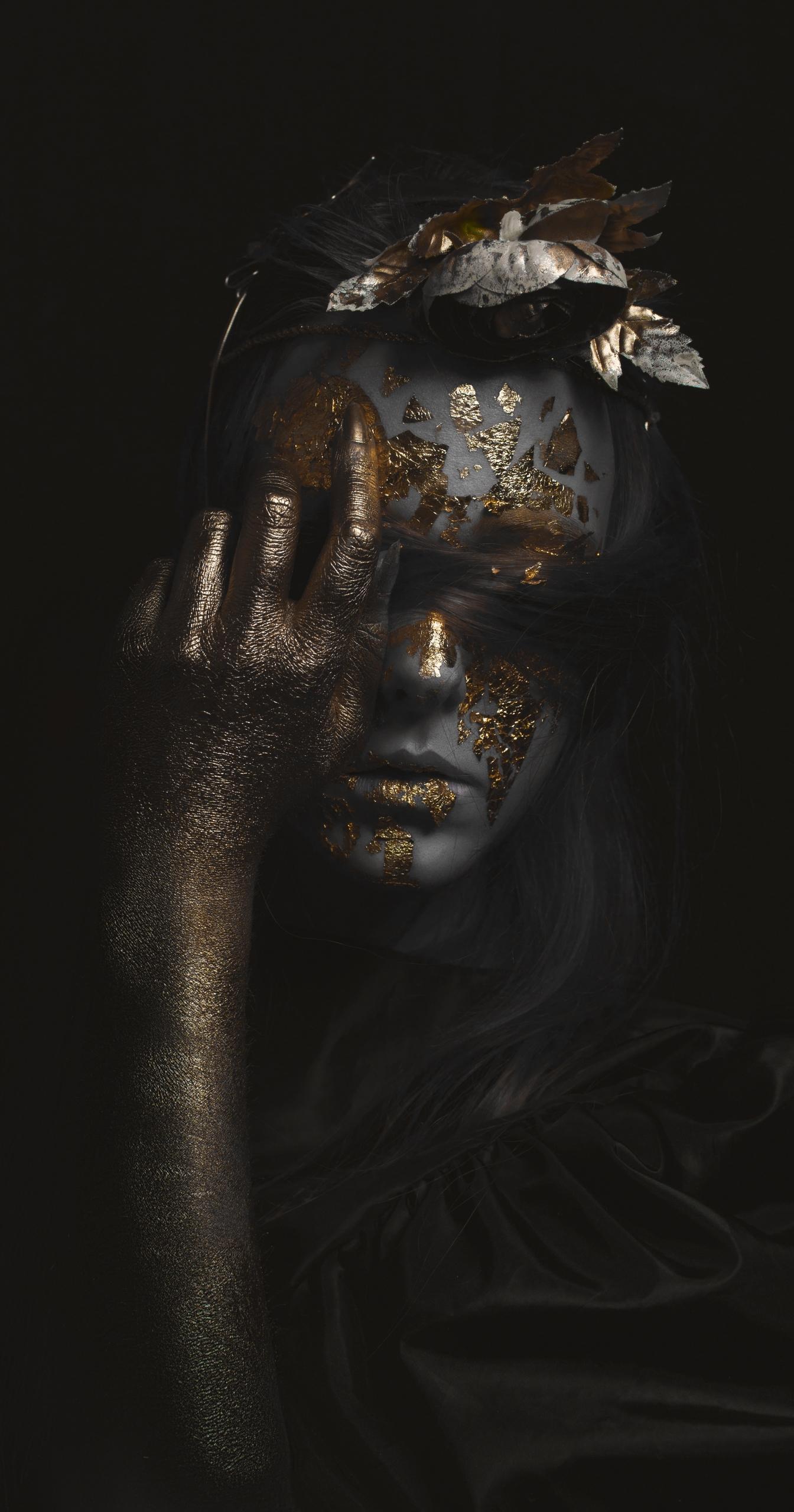 Dark Queen - portraitart, portrait - shizukapicture | ello