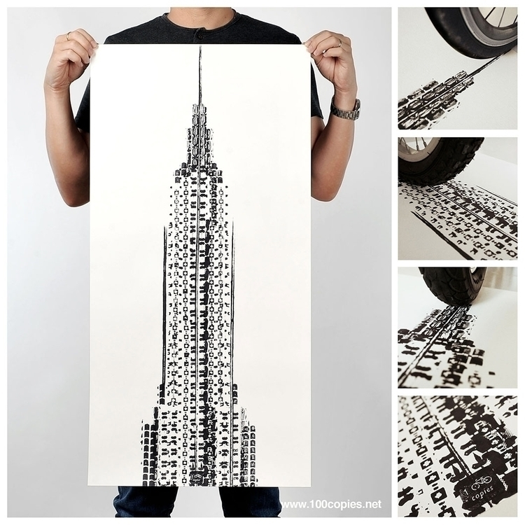 Design 21 - Empire celebration  - 100copies_bicycle_art | ello