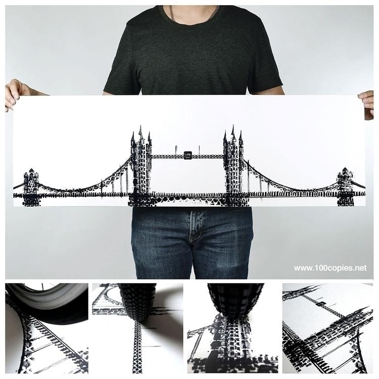Design 23 - God Save Bike traff - 100copies_bicycle_art | ello
