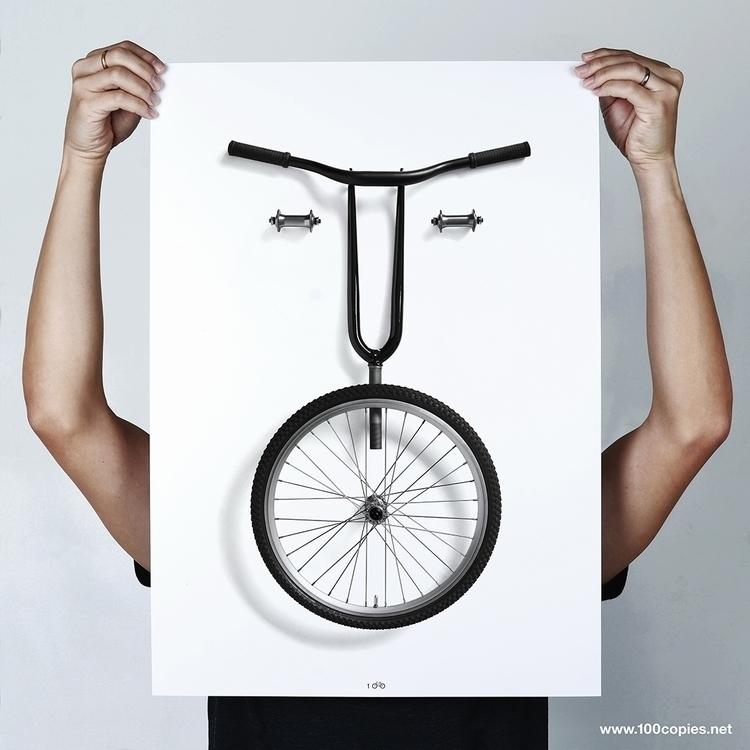 Design 31 - Bikemoji WTF series - 100copies_bicycle_art | ello