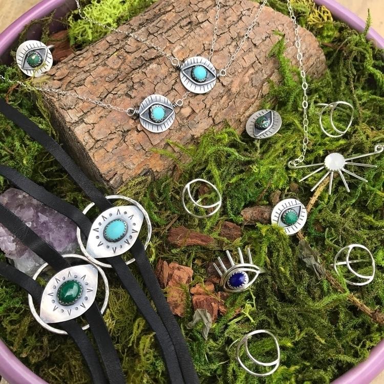 eyes!  - evileye, turquoise, malachite - blueandblueshop | ello