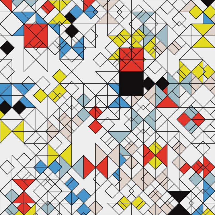 Geometric Shapes / 170618 - creativecoding - sasj | ello