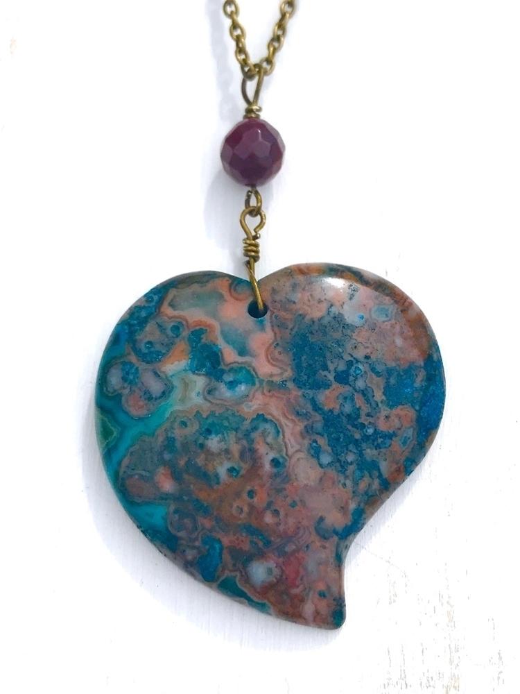 listing shop!! pendant - Etsy, agate - 0715jewelry | ello