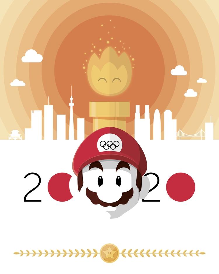 Tokyo Olympics 2020  - illustration - sr21 | ello