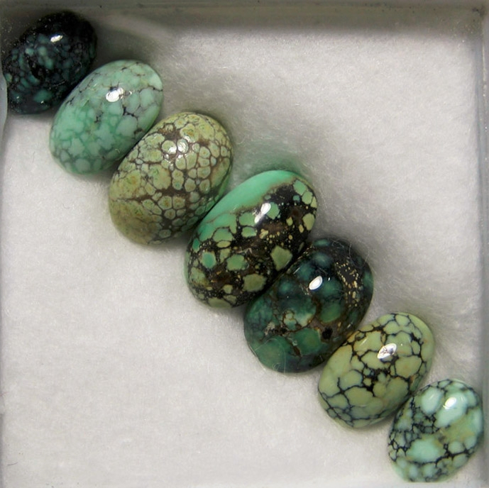 awesome set calibrated, natural - esmeraldaturquoise   ello
