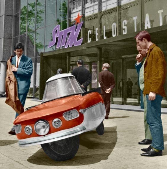Small car - 1965 Dalnik Korosa  - forehvandamme | ello