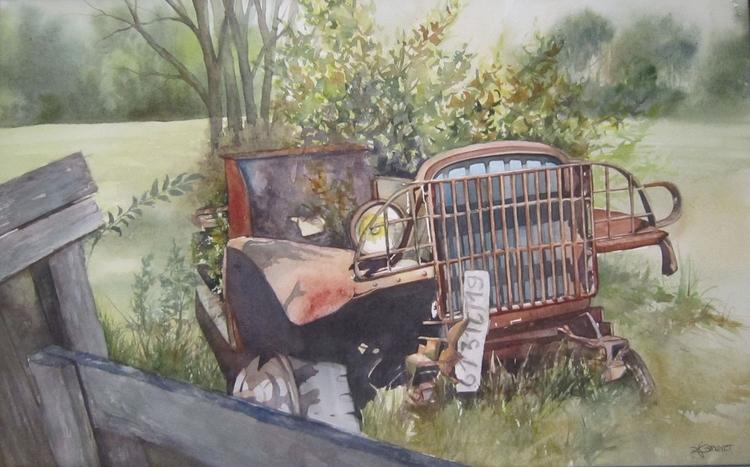 Peace Time, 70x50 cm, 2017. Emm - emmaquarellewatercolor | ello