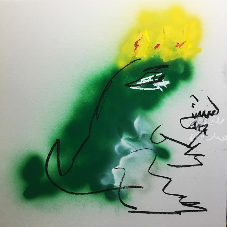 Tyrant Lizard, 2016 | spray pai - jkalamarz | ello