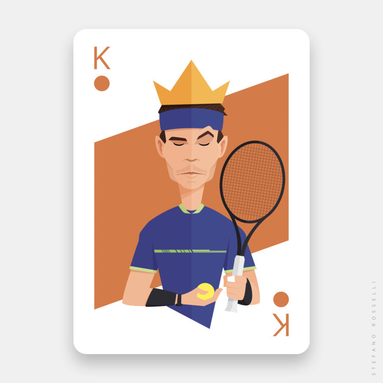 King Clay Courts  - portrait, caricature - sr21 | ello