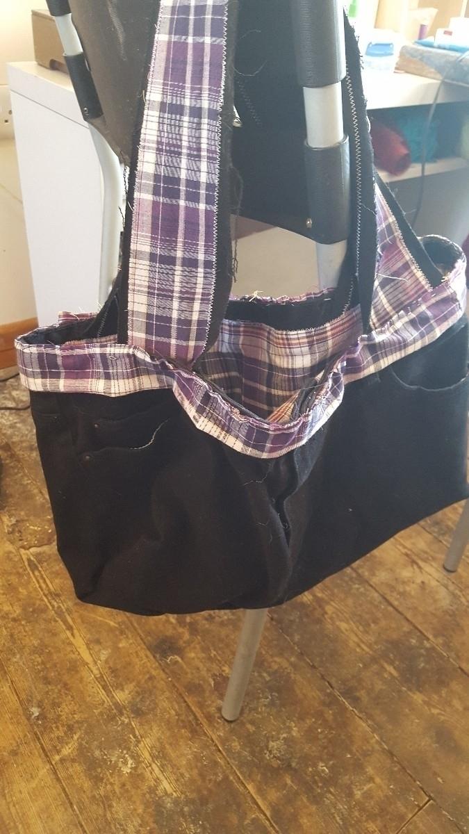 mad raggy bag. fully lined. loa - wifeyberk | ello