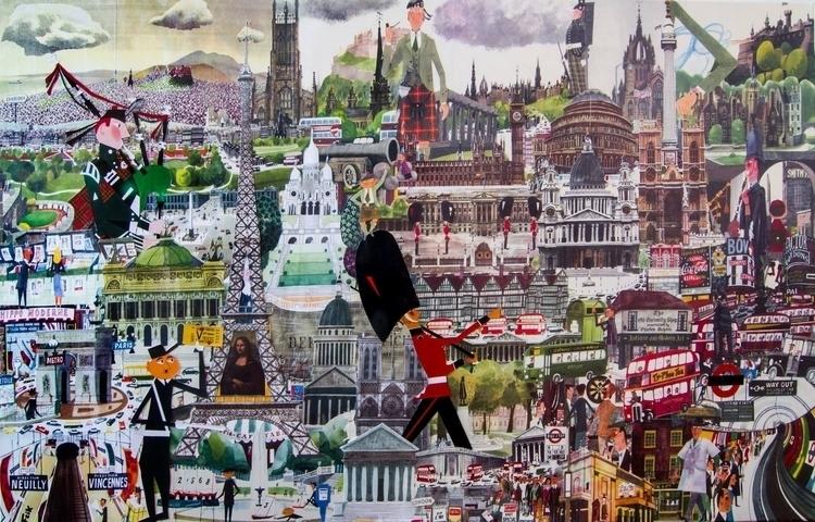 collage sasek - london, edeinburg - fredzy | ello