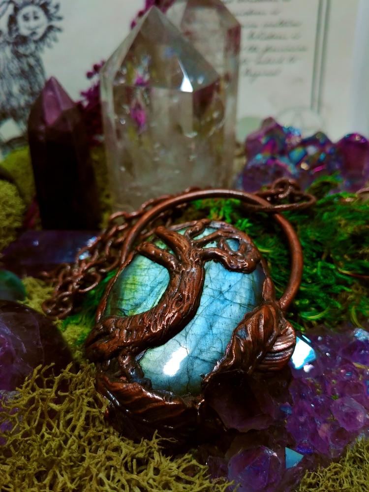 Tree life labradorite pendant  - themountaindruidess | ello