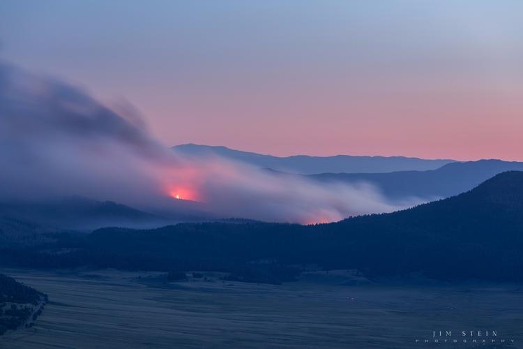 Cajete Fire Jemez Mountains, Me - jimstein | ello