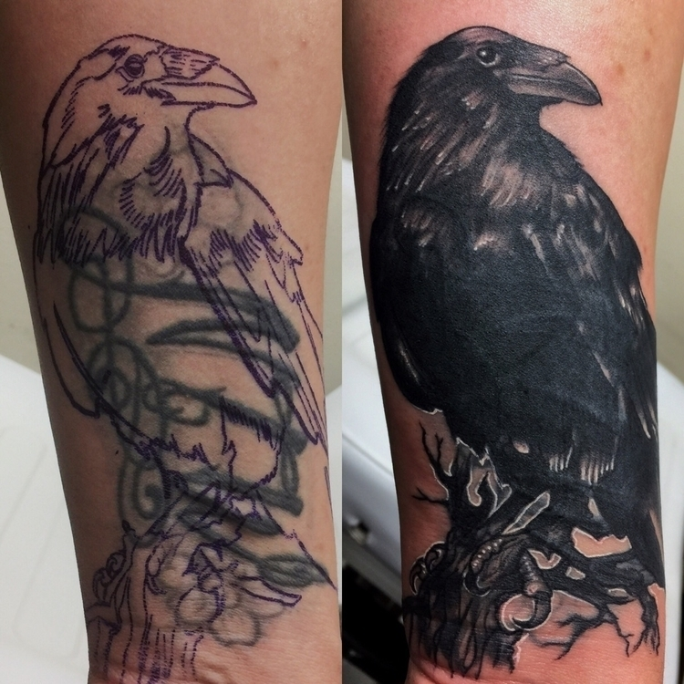 Ello. Post Coverup tattoo forea - lenhernandezart | ello
