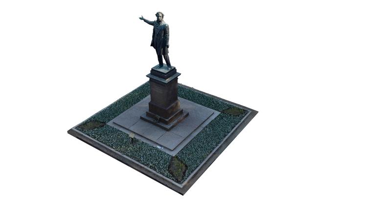 monument Alexander Pushkin Arts - andrianov | ello
