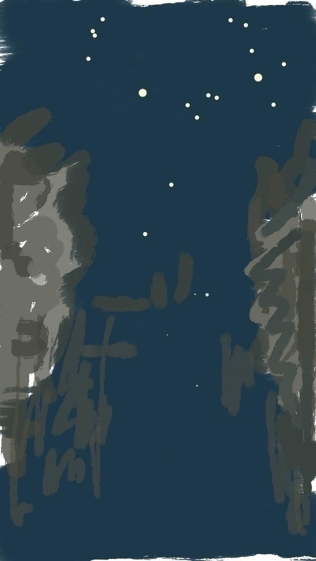 water night - digitaldrawing, iphonesketch - lotjem | ello