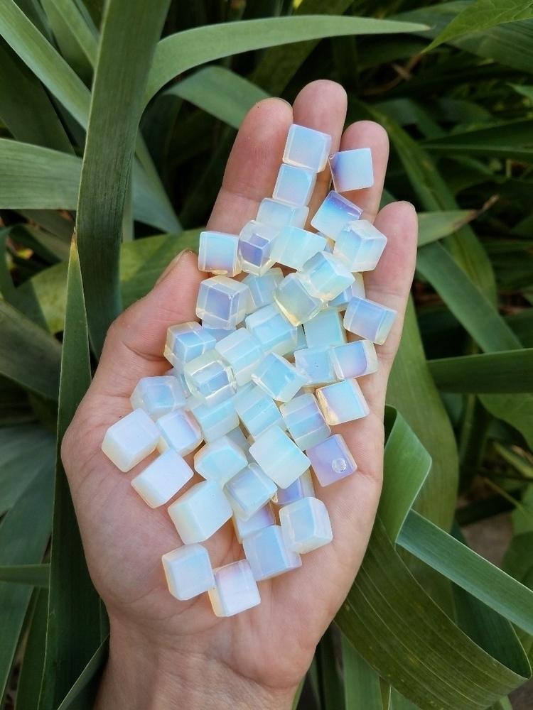 Opalite Cube Sets stock! ($6.70 - eclecticriverdesigns | ello