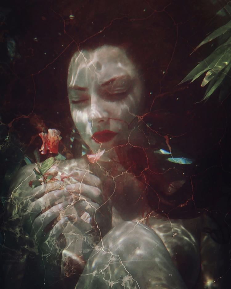 — Photographer/Model:Natalia K - darkbeautymag | ello
