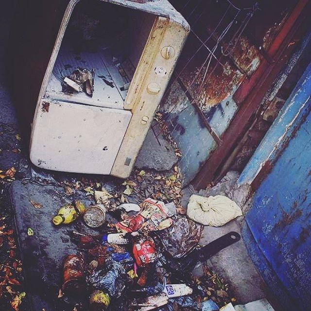 Garbage city - azulaymara | ello