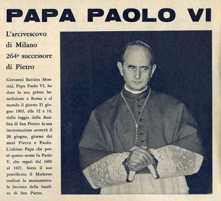[Papa Paolo Tratto dai nº 26 de - corrierino | ello