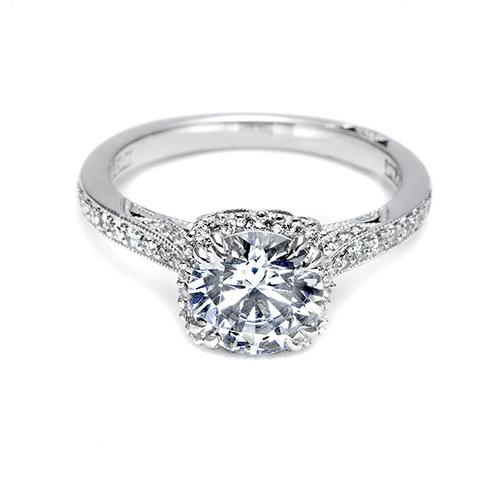 crafted Platinum engagement rin - leonemege   ello