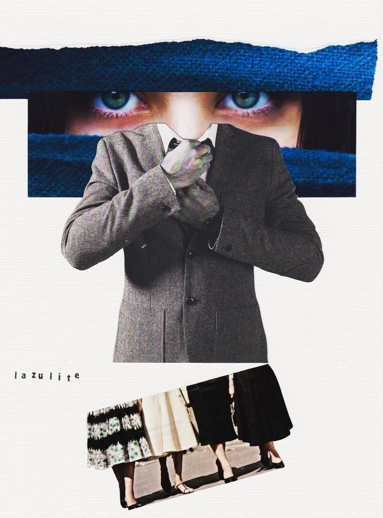 Lazulite - Collage, Analogue, Colagem - marianabastoscollage | ello