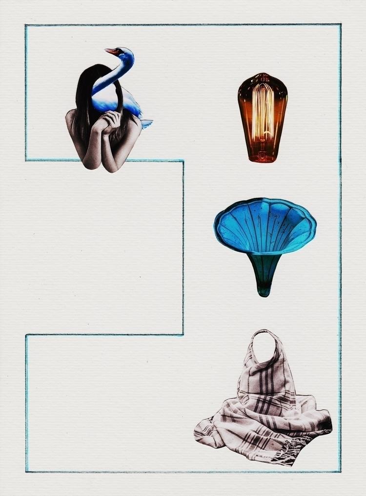 lado alado - Collage, Analogue, Colagem - marianabastoscollage | ello