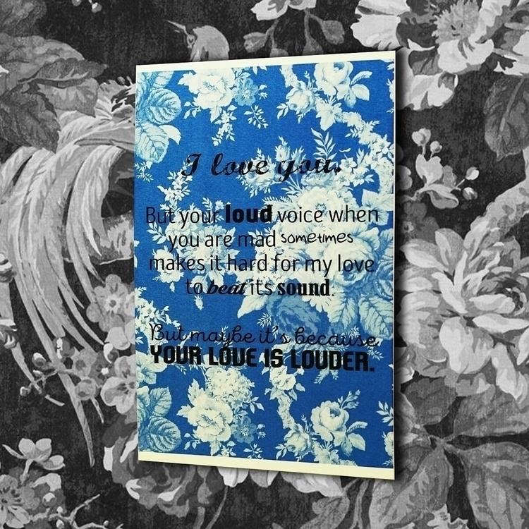 Love Louder words meet art. str - vexl33t | ello