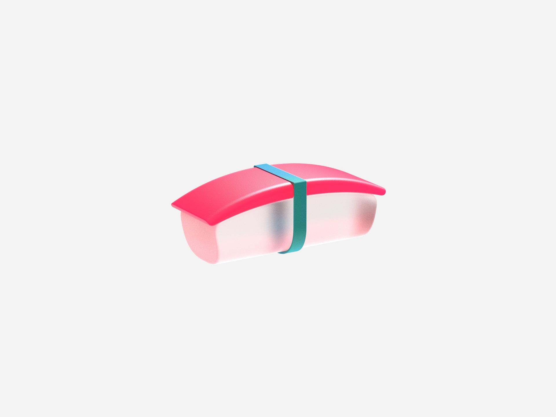 sushi - 3D, render, color, keyshot - chengtaoyi | ello
