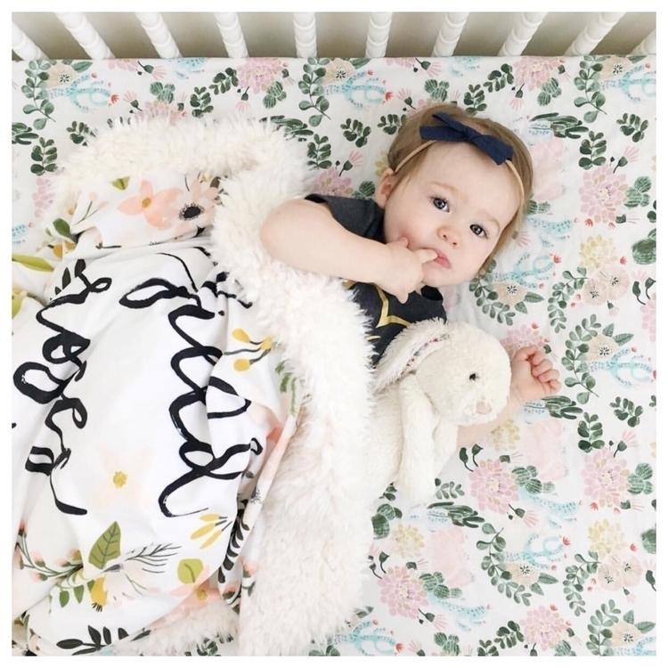 Beautiful Audrey pondering nap  - babybowclub | ello
