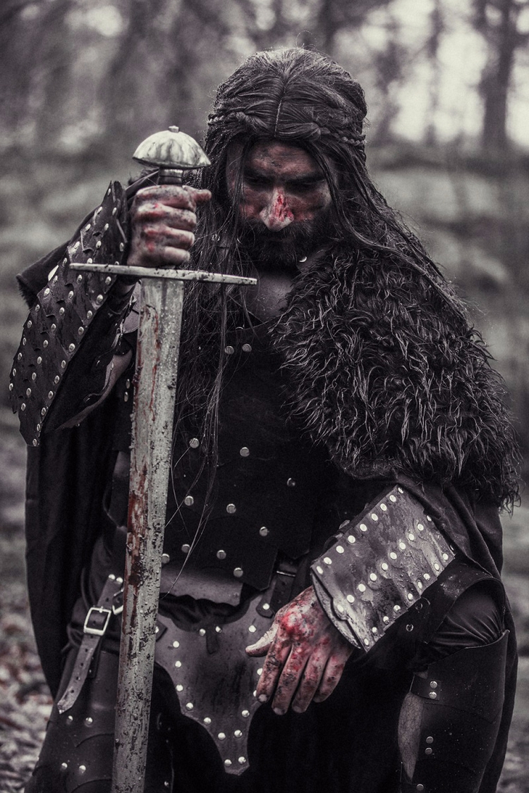 """Norse - Bloodshed"" — Photograp - darkbeautymag 