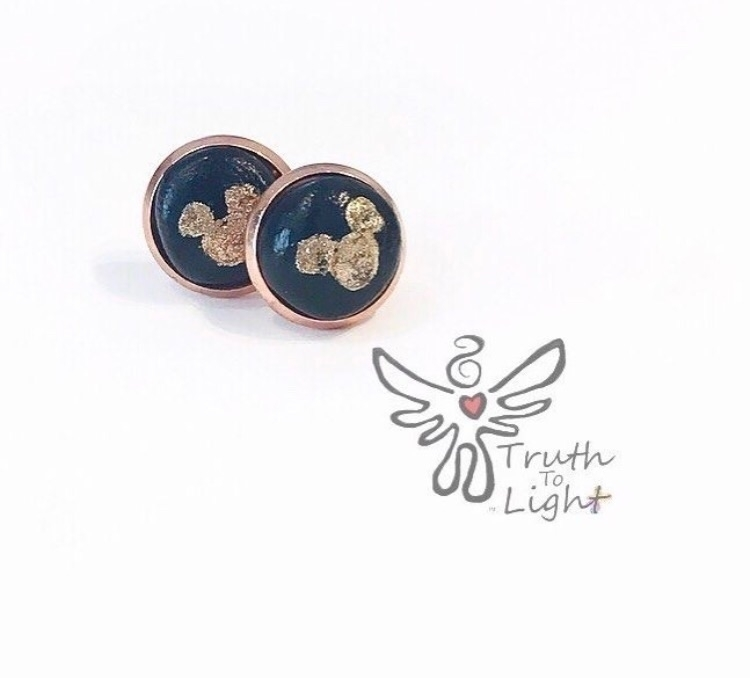 🖤:mouse:Mickey Mouse Rose Gold  - truth_to_light   ello