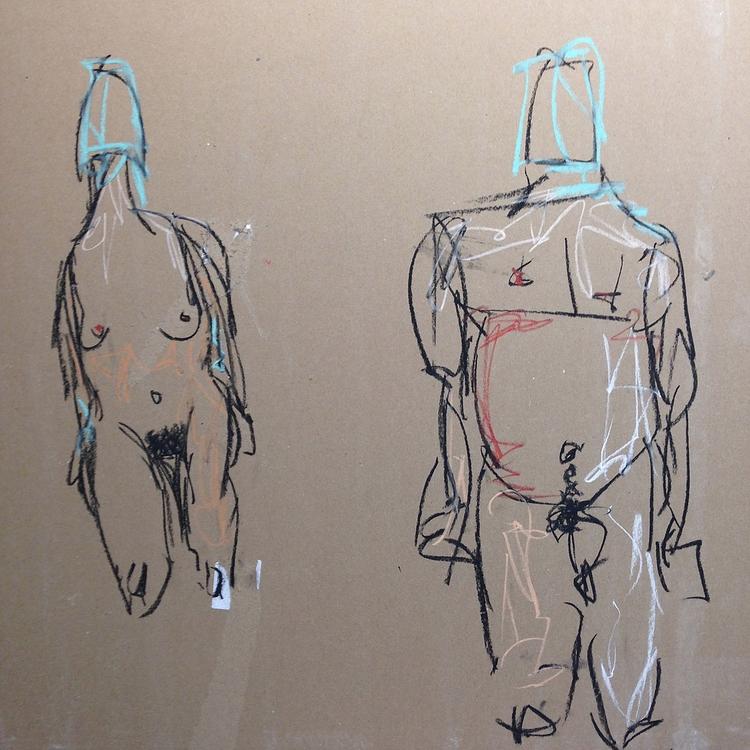 Climb Heights, 2016 - art, nudes - jkalamarz   ello