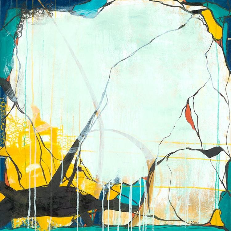 October 24x24 Oil Canvas decide - cogwurx | ello