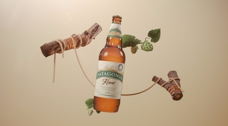 Patagonia Küné - beer, nature, advertising - molistudio | ello