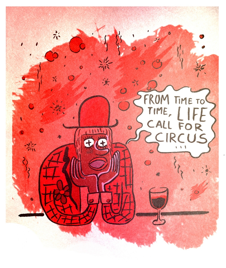 circus, fellini - dedomau | ello
