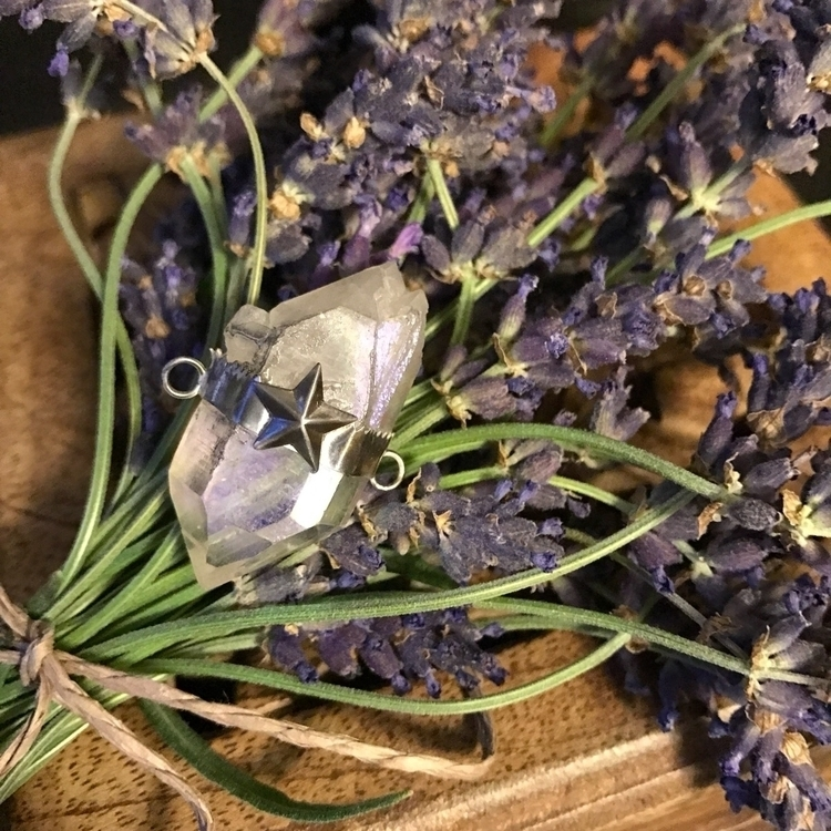 WIP .... picked fresh lavender  - moonandmountainmagick | ello