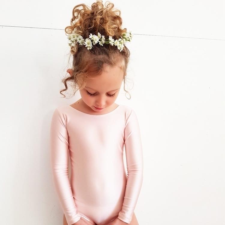 Luna Active Leotard Baby pink - evelynanna | ello