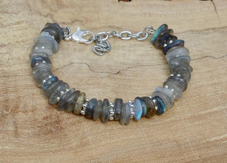Labradorite bracelet Handmade A - audacitywear | ello