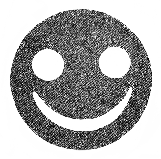 Smiley glitter patch - blood-becomes-water | ello